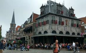 Hoorn Restaurant d'Oude Waegh am Käsemarkt