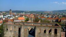 Bad Hersfeld Blick von der Stiftsruine