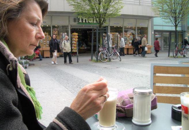 Berlin 2009 Tegel Fußgängerzone