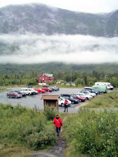 Jostedalsbreen Parkplatz