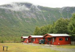 Jostedalsbreen Hütten auf dem CP
