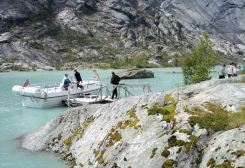 Jostedalsbreen zum Gletscher 6