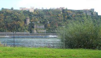 Koblenz Ausblick vom CP