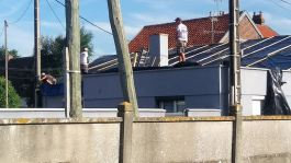 Le Crotoy Dachschäden