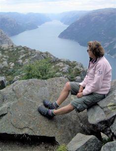 Preikestolen Blick in den Fjord