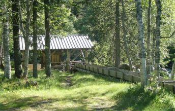 Vinje Mühle auf dem CP