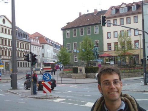 Weimar Kreuzung bei Jan