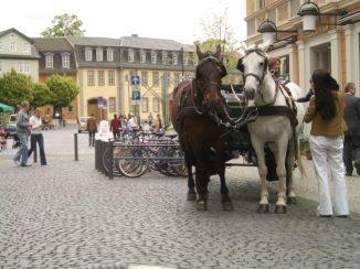 Weimar Pferdekutsche