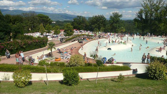 Figline Valdarno CP Badelandschaft