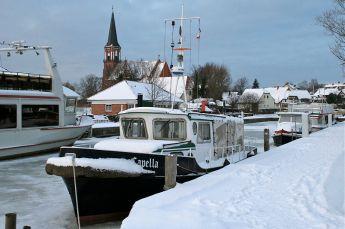 Wustrow Hafen