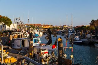 Caorle Hafen