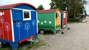 Dahme CP Zedano Bauwagen für Kinder