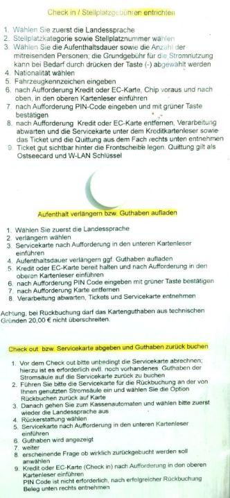 Heiligenhafen Beschreibung Kassenautomat