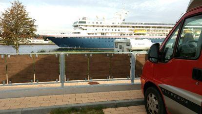 Rendsburg Passagierschiff
