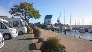 Schleswig Stellplatz am Hafen