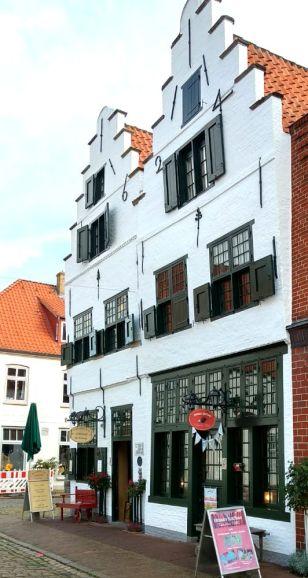 Friedrichstadt Doppelgiebelhaus