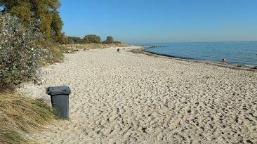 Pelzerhaken Strand beim Stellplatz