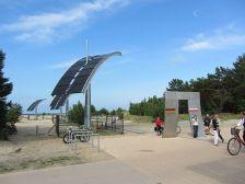 Ahlbeck Grenzübergang nach Polen in Strandnähe