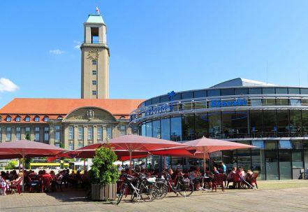 Berlin Spandau vorm Rathaus
