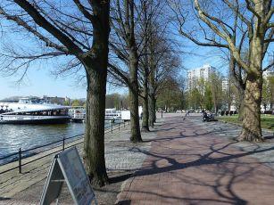 Berlin Tegel Greenwichpromenade Anlegestelle