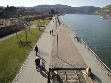 Bingen Kulturufer am Rhein