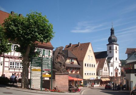Dahn Innenstadt