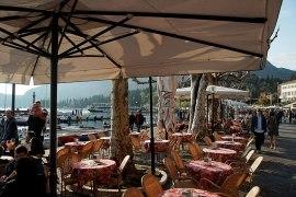 Garda Blick auf den Hafen