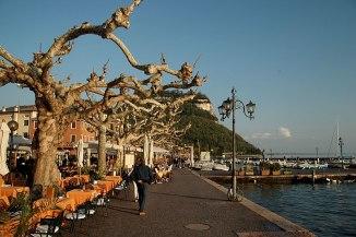 Garda Hafenpromenade
