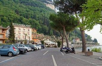 Garda Promenade Richtung Bardolino