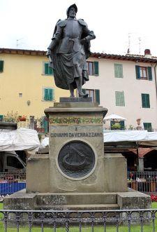 Greve Statua a Giovanni da Verrazzano