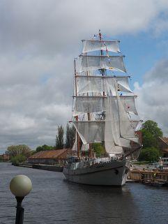 Klaipeda Segelschiff Meridianas