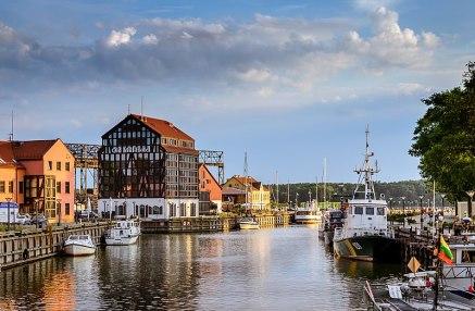 Klaipeda Hafenstadt