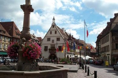 Obernai Marktplatz