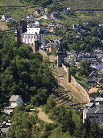 Oberwesel Stadtmauer