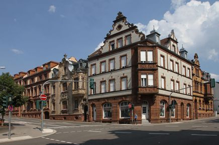 Pirmasens Schuetzenstrasse Ecke Bahnhofstrasse