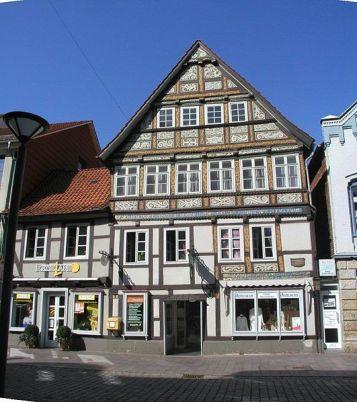 Rinteln ehemalige Universitätskommisse in der Weserstraße
