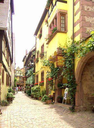 Riquewihr Rue des Cordiers