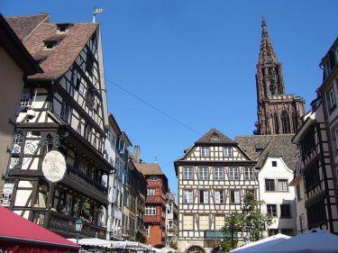 Strassburg Ferkelmarkt