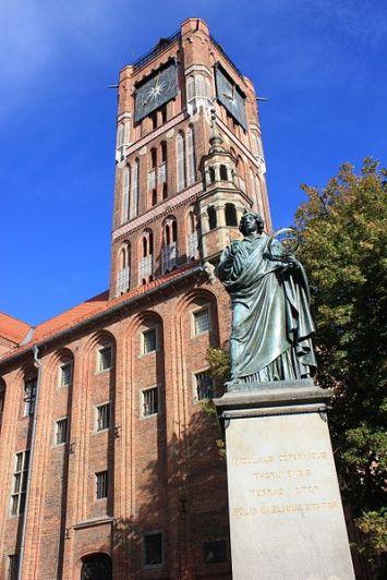 Torun Kopernikus Denkmal