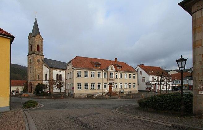 Waldfischbach Kirche Rathaus