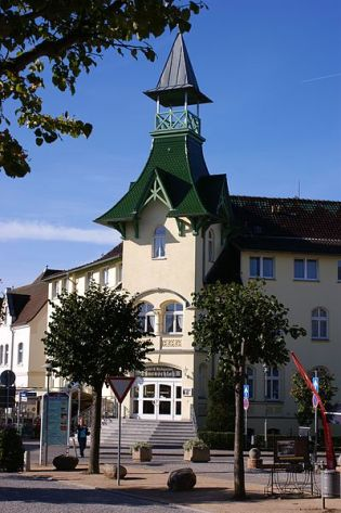 Zinnowitz Hotel Dünenschloss