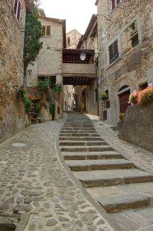 Anghiari Treppe