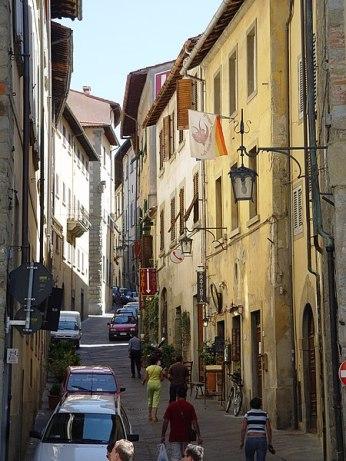 Arezzo Innenstadtgasse