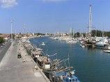 Comacchio_Porto_Garibaldi_Hafenblick