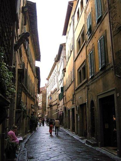 Cortona Tuscanny Street