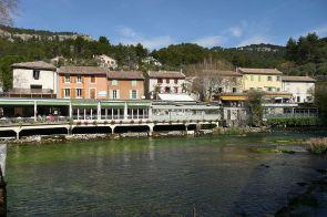 Fontaine de Vaucluse Restaurants an der Sorgue