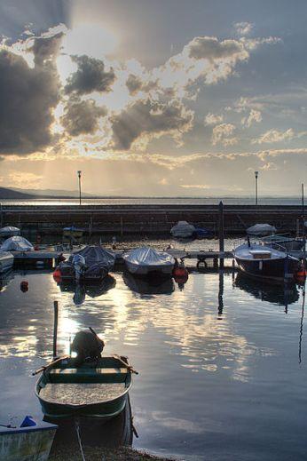 San Feliciano Hafen