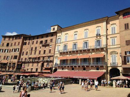 Siena Restaurants auf dem Campo