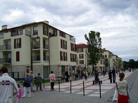 Swinemünde Promenade