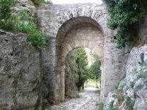Saturnia Porta Romana Inside